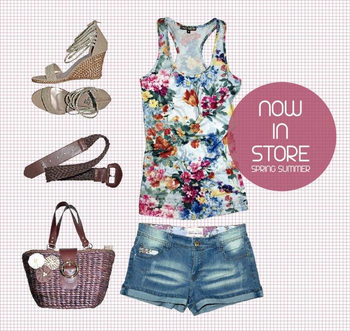 Inside shops, moda jóven colección de verano para mujer