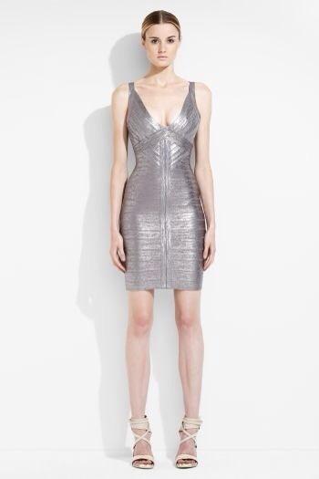 Herve Leger, vestidos de fiesta para mujer, vestidos colección de invierno Herve Leger
