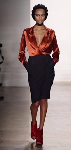 Sophie Theallet, moda mujer, ropa para mujer colección de invierno de Sophie Theallet