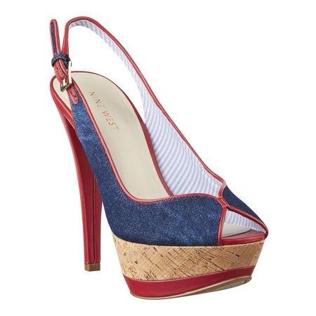 Nine West, zapatos para mujer, sandalias de tacón alto, Peep toes de Nine West