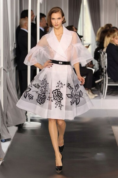 Vestidos elegantes de Dior couture