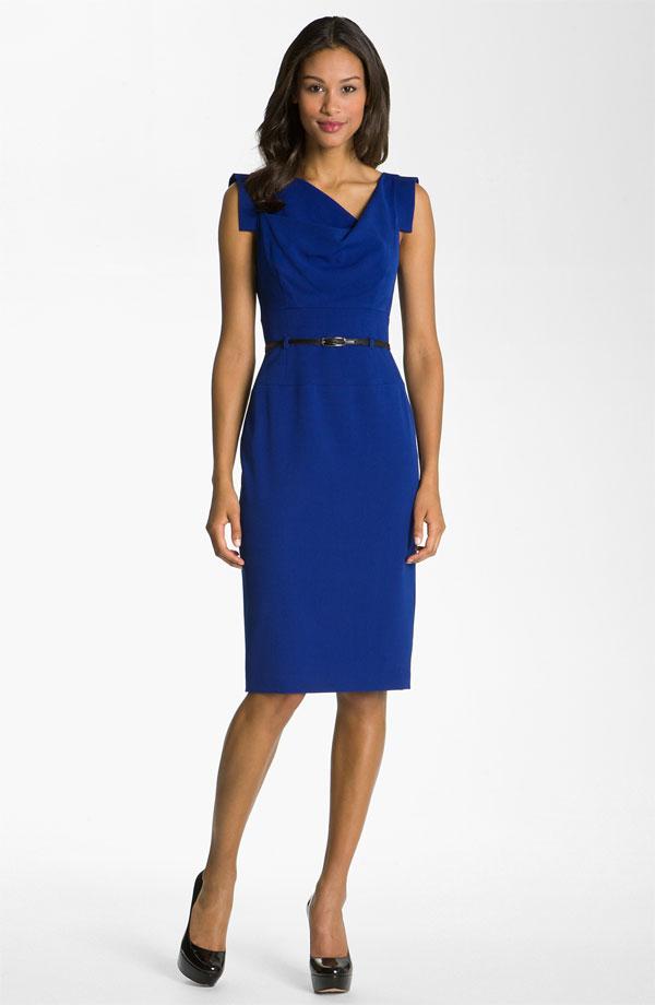 Vestidos Azules Distintos Modelos Con Mucho Estilo