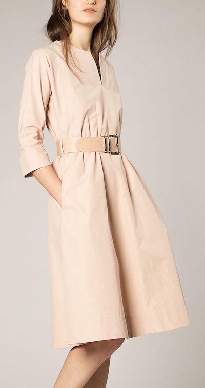 vanilia-jurk-shaped-cotton