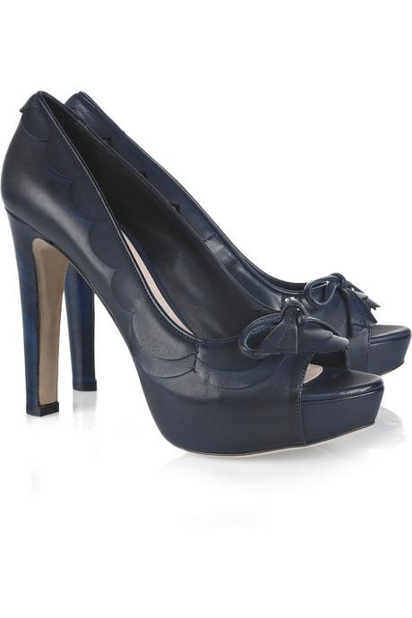 Miu Miu, peep toes y sandalias de plataforma, calzado para mujer colección de verano de Miu Miu