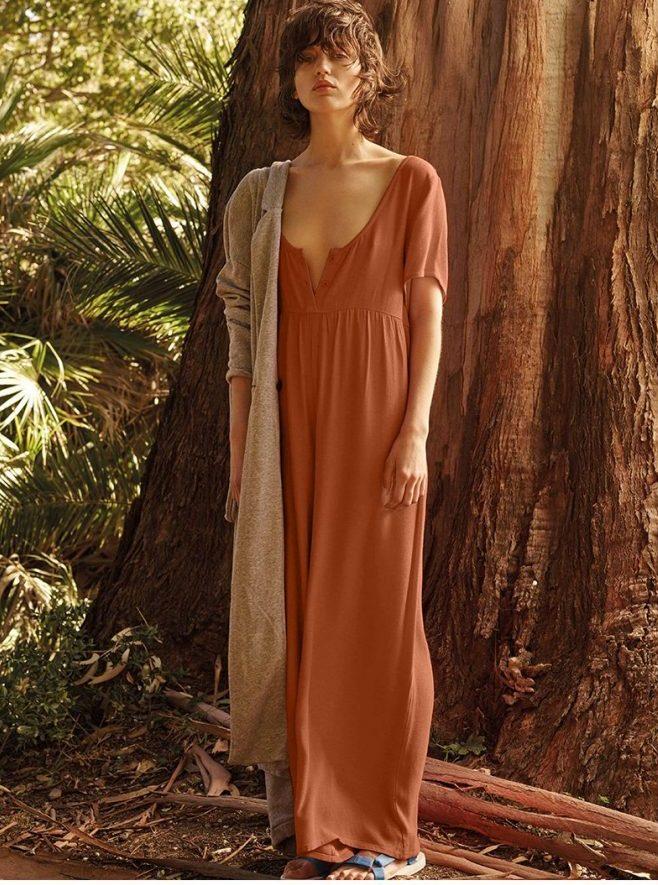 American Vintage, básicos para mujer, ropa de algodón, colección de verano de mujer