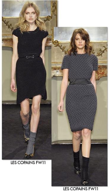 Les Copains, moda para mujer, vestidos y conjuntos de ropa de invierno, colección de invierno de Les Copains