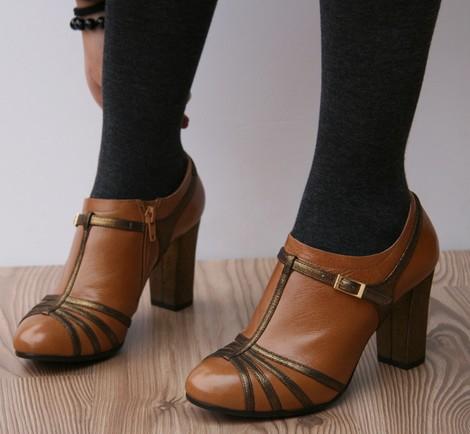 Zapatos marrones de verano para mujer 84eUF