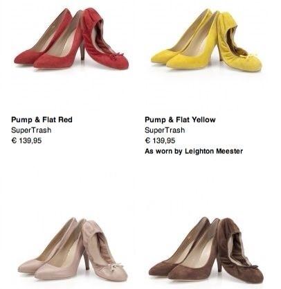 Supertrash, zapatos de tacón de fiesta a juego con zapatos bajos, calzado para mujer de Supertrash