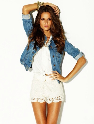 Blanco, we Love jeans, moda para mujer, colección denim de verano para mujer de Blanco