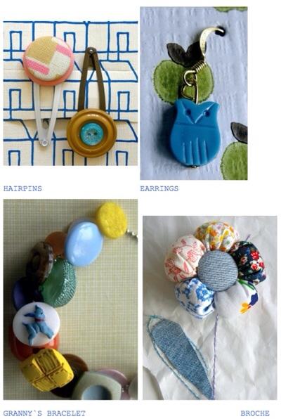 Bybjor, accesorios de mujer, collares, hebillas, pulseras, accesorios de moda artesanales y vintage de Bybjor