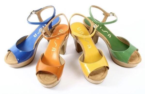 Unisa, moda calzado para mujer, colección de verano, sandalias para mujer de Unisa