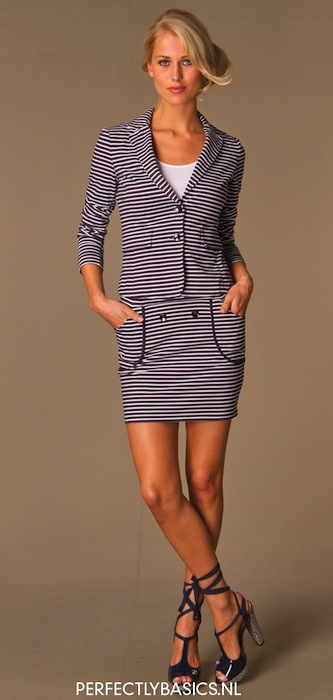 Armani-Jeans-Striped-Mini-Skirt-Dark-BlueWhite-02