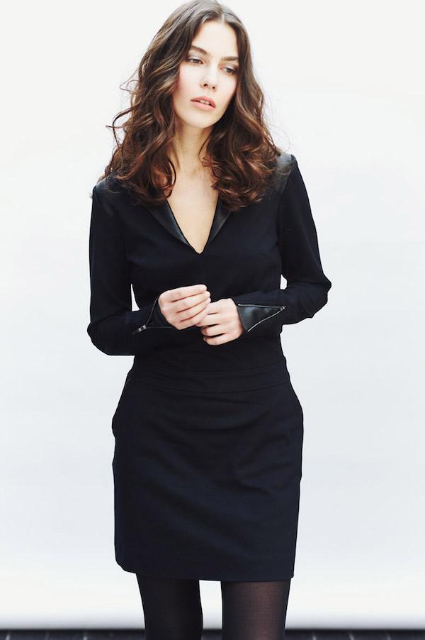 chipie vestido para mujer negro
