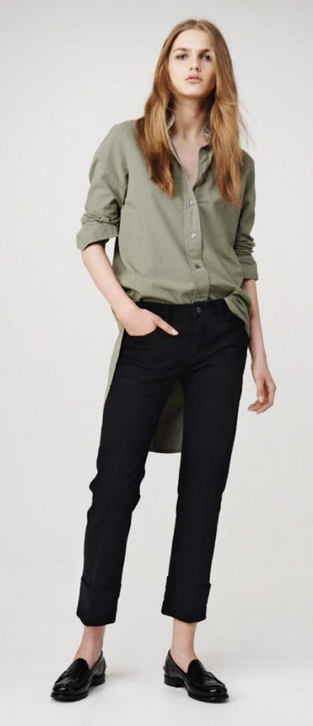 frame-denim pantalones para mujer