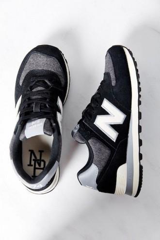 Womens Black Sneaker Shoes