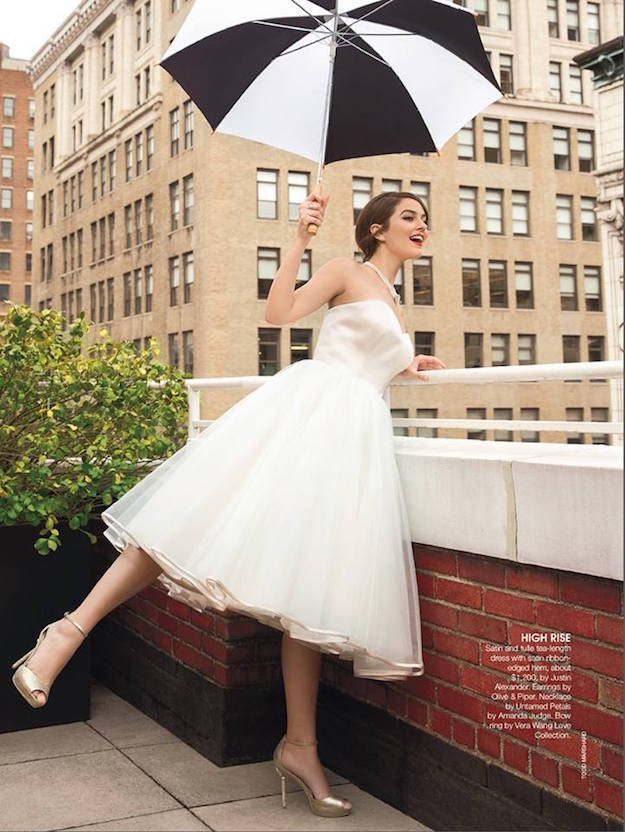 Justin Alexander bridal vestidos cortos 4