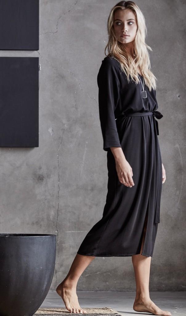 James Perse blanco y negro moda