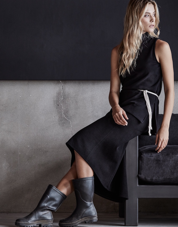 James Perse vestido negro