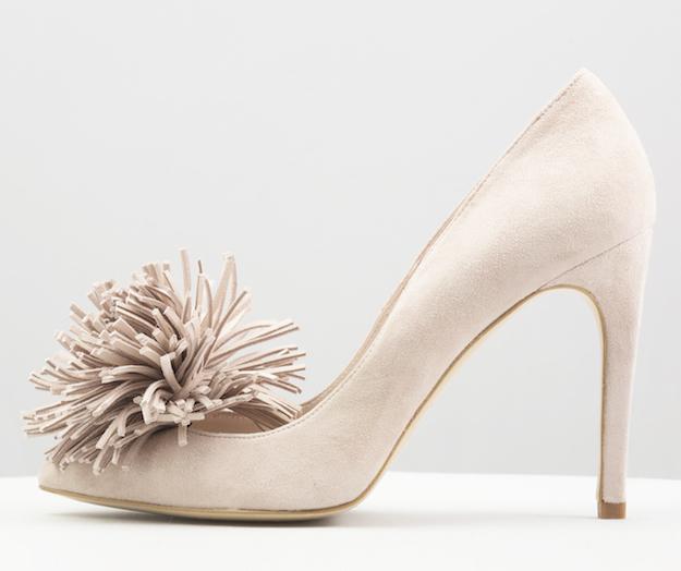 zapato salon rosa nude coosy