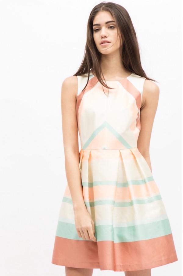 sinequanone robe rayas