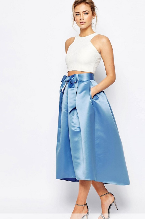 f5ee30185 Faldas para bodas, descubre los mejores modelos verano 2016